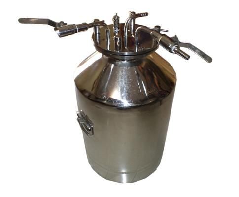 Typical Lab Pressure Vessel with connections
